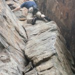 Climbing at New River Gorge